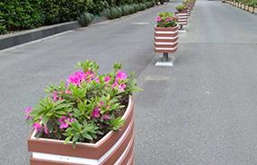 湖北黄石,1300组三阳开泰系列PVC 花箱