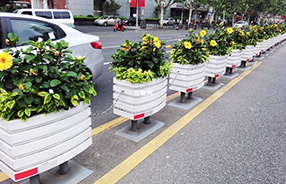 北京奥运村;一帆风顺系列PVC 花箱