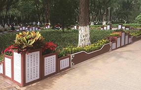 海南海口,金牛岭公园723组层峦叠嶂系列PVC 花箱