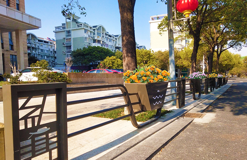浙江舟山-道路两侧隔离护栏